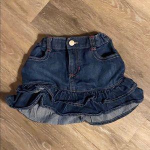 Old Navy 4t denim skirt